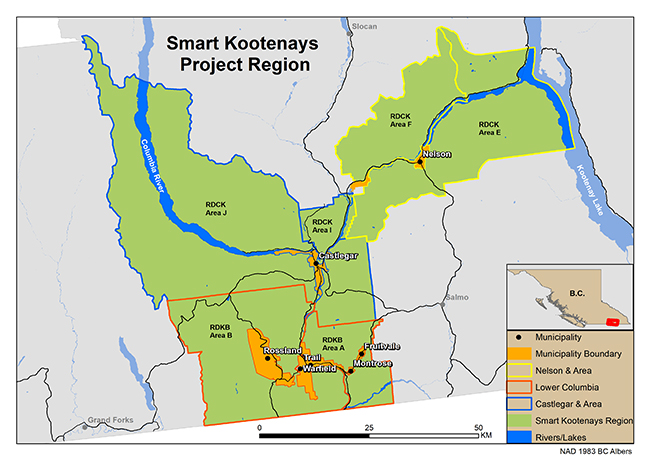 Smart Kootenay Region